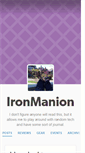 Mobile Preview of ironmanion.org