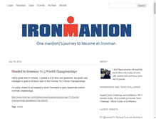 Tablet Preview of ironmanion.org